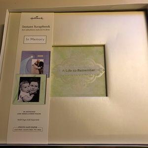 Hallmark Album/Scrapbook for life's memories!
